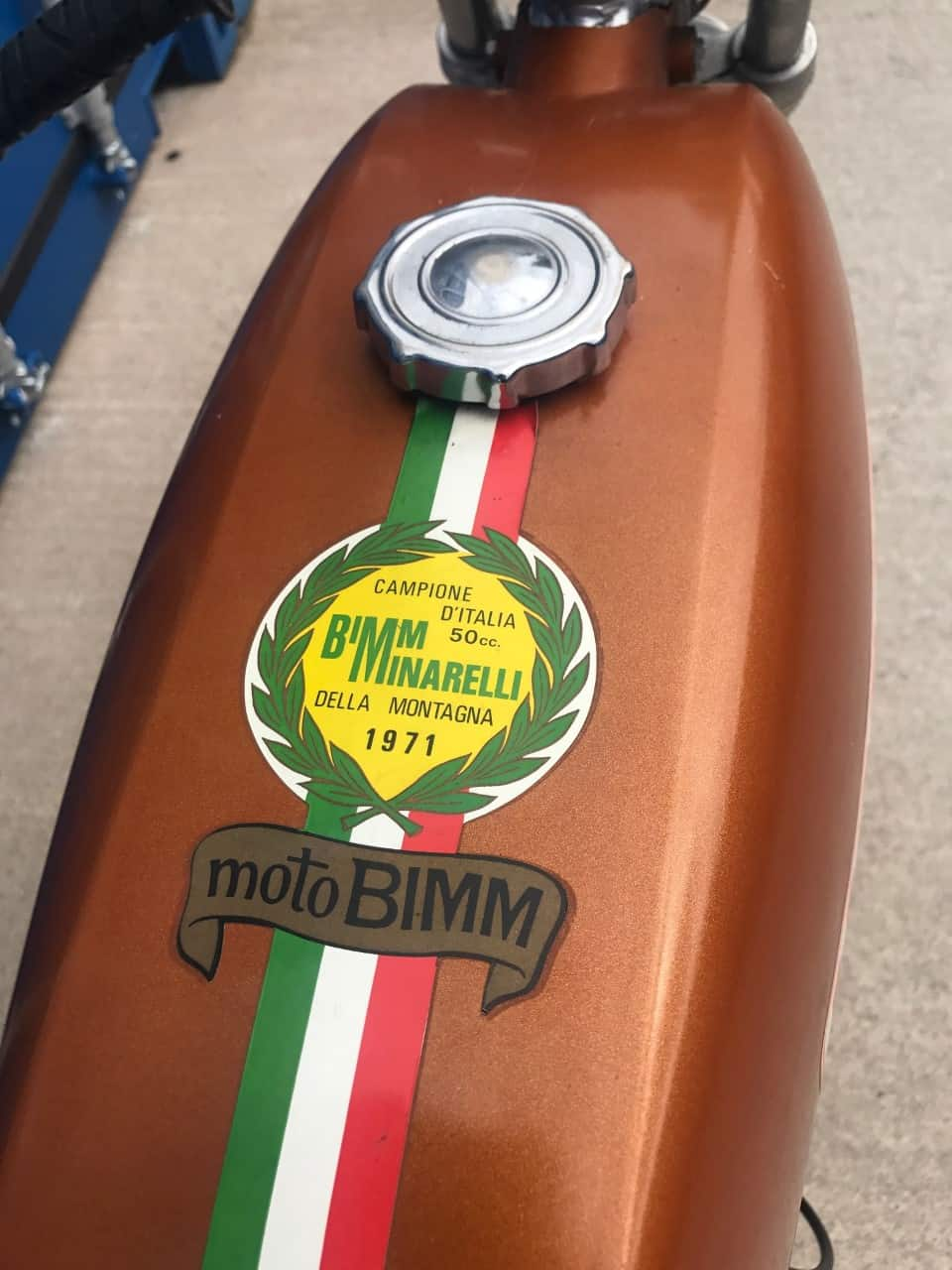 MOTO BIMM SUPER SPORT 50 1974
