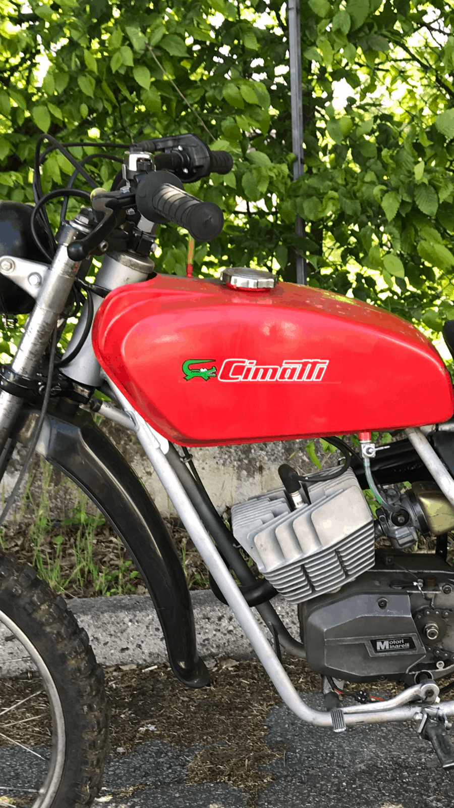 CIMATTI KAIMAN 4M 50cc CROSS 1974