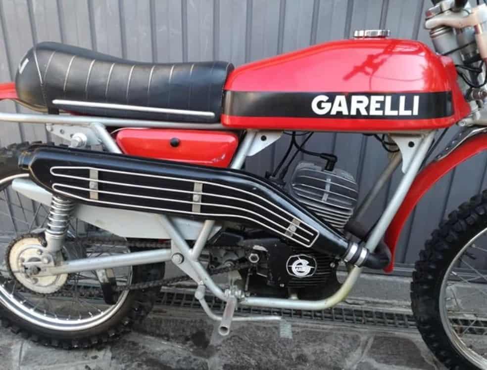 GARELLI KL50 CROSS 5V 50cc 1976
