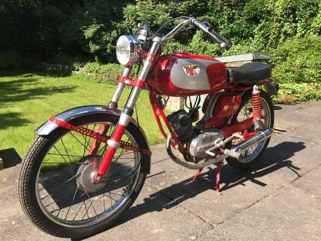 MOTO MORINI ZETA ZETA ZZ50 1973