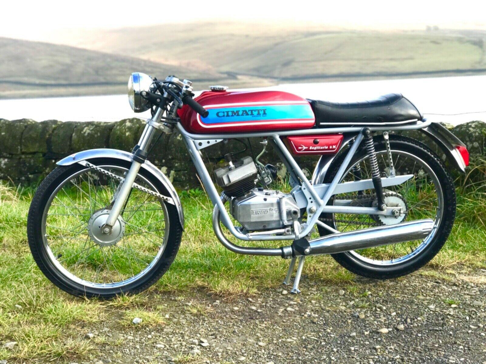CIMATTI SAGITTARIO 6M 50cc Pedal Start 1973