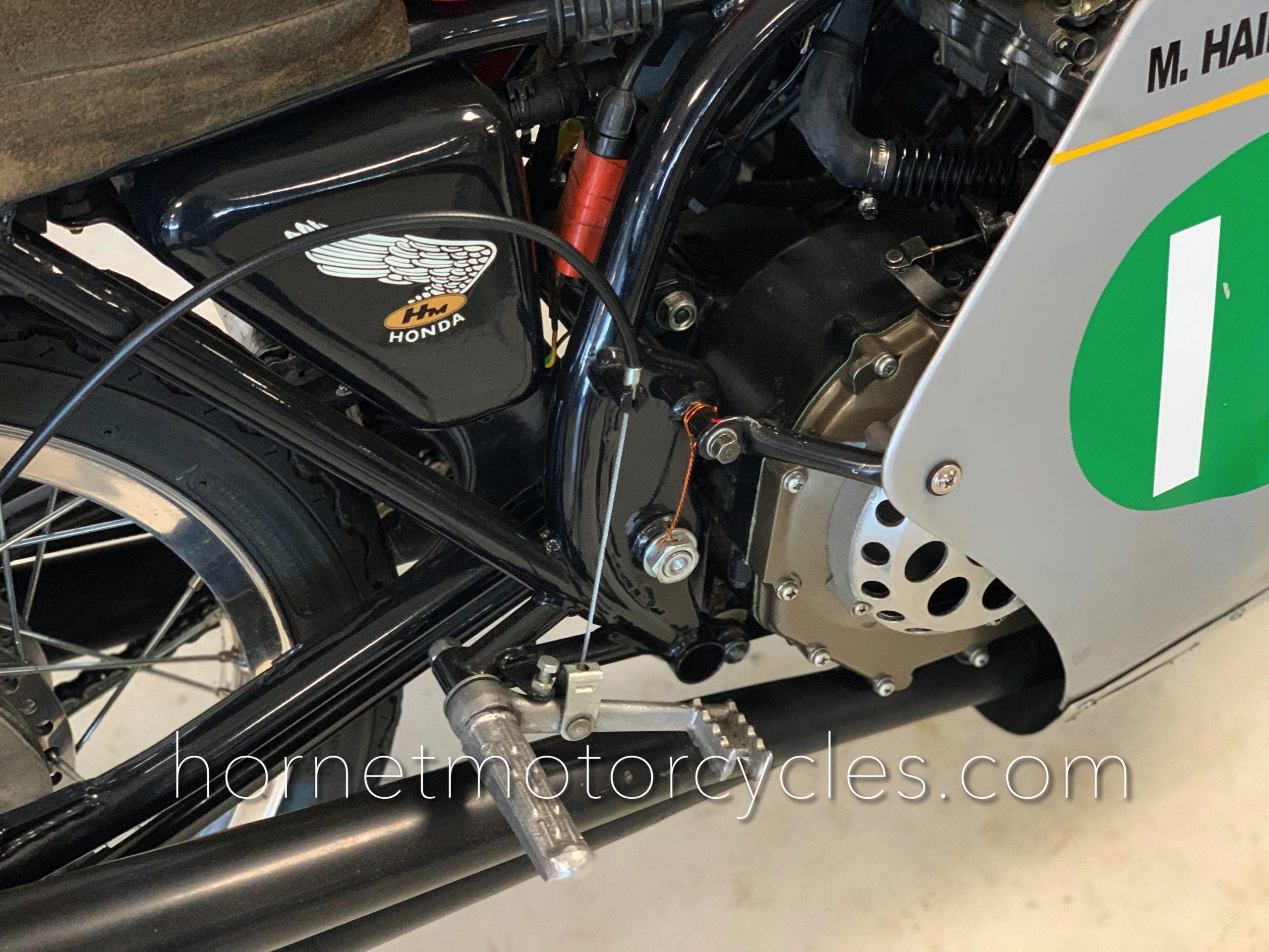 Honda 250 RC162 Race Motorcycle Mike Hailwood